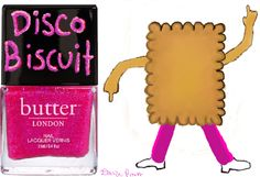 Disco Biscuit- Goes perfectly with your afternoon Bee Gees tea