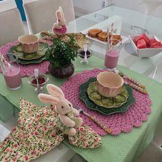 Café da Manhã de Páscoa - Candy Color