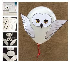 ♥DIY Harry Potter Style Owl Baby Shower or Party Balloon Decoration Template Printable PDF Instant Download♥ This template can be used to print, cut out and stick to balloons to make for one festive party!! Whether you have an owl themed baby shower to plan, or a Harry Potter themed birthday party in need of the owl post, these owl decorations are a unique way of sparking imagination. INSTANT DOWNLOAD The owl template is delivered in the form of a PDF that you can print on 8.5x11 printer…