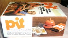 Retro/Vintage 1973 game of 'PIT' a 40 year by charlotteswonderweb, $7.50