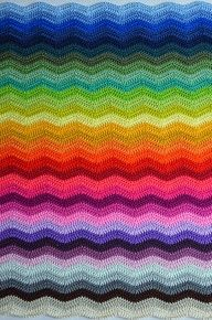 I really like the way the color is combined and done in a Missoni style