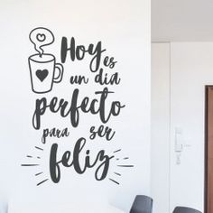 Cute Room Decor, Wall Decor, Bedroom Furniture Inspiration, Cafe Quotes, Berry Good, Disney Frames, Mexican Kitchens, Positive Phrases, Framed Quotes