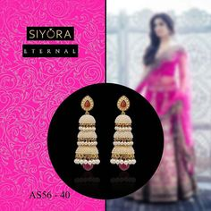 Give a classy touch to your #traditional #ensemble by these alluring #jhumkas .. Whatsapp +91-9769714221  #Siyora #Jewellery #jewelry #onlinejewellery #onlineshopping #onlinestore #onlineshopindo #designer #earrings #earringsfashion #earringsforsale #fashion #fashionista #fashionjewelry #fashionearrings #fashionaccessories #accessories #gold #danglers #wedding #indian #indianbride #bridaldiaries #bollywoodfashion #conceptjewellery #beautyblog