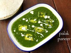 palak paneer restaurant style recipe hails from the north indian cuisine or punjabi cuisine and is typically served with tandoor roti & naan Paneer Recipes, Curry Recipes, Indian Food Recipes, Ethnic Recipes, Easy Recipes, Snacks Recipes, Punjabi Recipes, Recipies, Veg Recipes