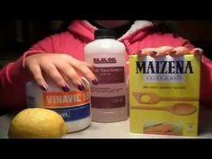 Ricetta pasta di mais a freddo senza cottura - preparazione e colorazione - YouTube