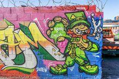 Street Art And Graffiti In And Around Portobello In Dublin (Ireland)