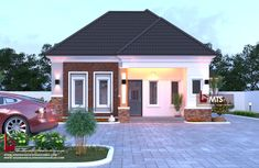 #Architecture #Nigerianbuildingdesigns #MastersTouchStudios #Homes #House #Nigeria #bungalow #beauty #fine #Design #Exterior #Modern #HouseDesign #HomeDecor #HouseStyles #HouseExterior #love #pinterest #beautiful #nice 1 Bedroom Bungalow design Minimum size of land is 50ft by 50ft. Contact +2348032582385, +2348174058017 (Calls and Whatsapp) E mail: Masterstouchstudios1@gmail.com