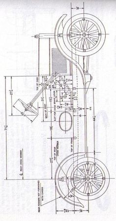 Model T Ford Forum: Looking for sideview drawing with measurements. Model T Ford Forum: Looking for sideview drawing with measurements. Foto Cars, T Bucket, Wooden Car, Ford Pickup Trucks, City Car, Pedal Cars, Car Drawings, Ford Motor Company, Vintage Trucks
