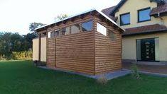 Gartenhaus mit Glasdach – Google-Suche Garage Doors, Outdoor Structures, Google, Outdoor Decor, Home Decor, Glass Roof, Garden Cottage, Searching, Decoration Home