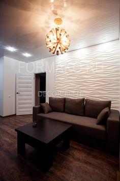 Фото Wall Tiles Design, Floor Design, Veneer Panels, Ceiling Ideas, Faux Stone, Modern Wall Decor, Home Room Design, Drywall, Concrete Floors