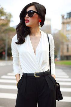 Beautiful high-waisted fashion outfits (40)