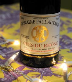 Wine #23 was a Domaine Paul Autard Cote du Rhone. This wine is a blend of 70% Grenache, 15% Syrah, and 15% Counoise vinified in temperature controlled vats.  Alcohol 14.5%. On the nose I got plum and spice and on the palate I got great red and black fruit characteristics. Great for a cheese plate pairing.