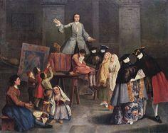 "Pietro Longhi Il cavadenti, ""The Tooth Puller,"" 1746, Milano, Pinacoteca di Brera. See: pinterest.com/pin/287386019947806570"