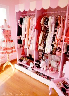 Closet full of kawaii clothes...  GIVE IT ME OR DIE!!  *sobs* Want this so damn MUCH!