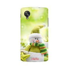 White Cartoon Bear Lg Nexus 5 Mobile Case - ₹399.00 INR