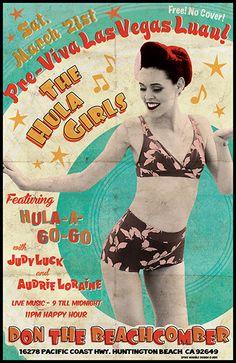 GigPosters.com - Hula Girls, The