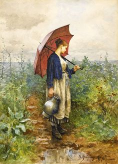 Daniel Ridgway Knight (american painter)