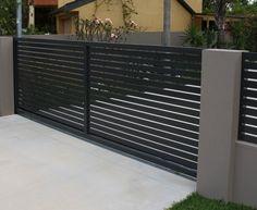 Gate Wall Design, Home Gate Design, House Fence Design, Front Gate Design, Main Gate Design, Main Entrance Door Design, Modern Entrance, Entrance Gates, Gate Designs Modern