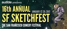 Check out the schedule, buy your tickets, and sync your calendars. This year's SF Sketchfest lineup is jammed with comedy hoopla! Comedy Festival, Get Tickets, Happenings, Fundraising, Shit Happens, Events, Fundraisers