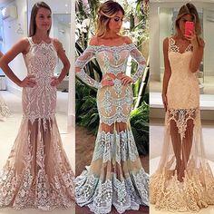 Para quem também ama transparência!! #dress #details #byisabellanarchi #isabellanarchicouture