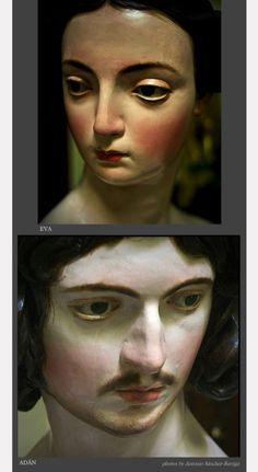 Sculptures by Alonso Cano 1666, polychromy by Juan Vélez de Ulloa, 1676. (photos by Antonio Sánchez-Barriga)