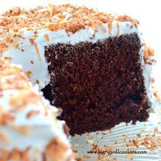 Gram's Devil's Food Chiffon Cake