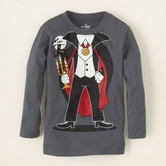 baby boy - graphic tees - vampire graphic tee | Children's Clothing | Kids Clothes | The Children's Place
