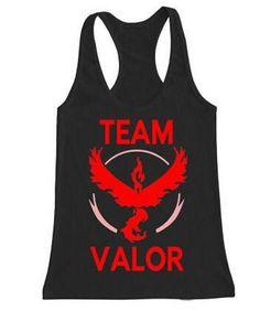 Valor Team Pokemon Go Ketchum Trainer Tank Top