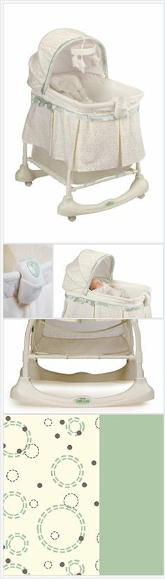 Kolcraft Cuddle 'N Care 2-in-1 Bassinet and Incline Sleeper, Emerson - Every Thing Baby