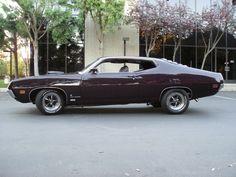 1970 Ford Torino Cobra in special-order Lincoln color