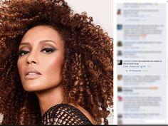 Atriz é alvo de comentários racistas em rede social (Foto: Reprodução/Facebook)