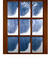 Lightly frost your front windows with spray snow, or frost a border along the outside edge or bottom. Then, place an electric candle in each window to create a frosty glow. or you could have old windows like I do and it occurs naturally! Window Snow Spray, Snowy Window, Christmas 2019, Winter Christmas, Christmas Crafts, Christmas Carol, Christmas Ideas, Snow Decorations, Old Windows