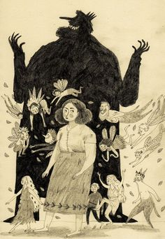 Fairies and Goblins - Briony May Smith