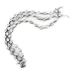 Sterling Silver Bracelets with Clear CZ, 7 Inches Bracelets - Silver. $359.98. Clear CZ. Bracelets. 7 Inches. Sterling Silver