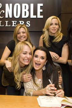 Beverly Hills Housewives come out to support Kyle Richards new book