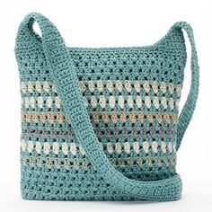 Croft & Barrow® Crochet Harmony Crossbody Bag