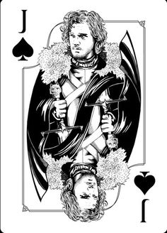 Playing Cards - Jack Of Spades, Jon Snow, Game Of Thrones Playing Cards by Paul Nojima, Time Void - playingcards, playingcardsart, playingcardsforsale, playingcardswithfriends, playingcardswiththefamily, playingcardswithfamily, playingcardsgame, playingcardscollection, playingcardstorage, playingcardset, playingcardsfreak, playingcardsproject, cardscollectors, cardscollector, playing_cards, playingcard, design, illustration, cardgame, game, cards, cardist