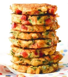 Rainbow Fritters | Food Recipes