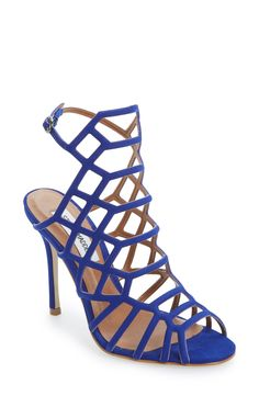 These Steve Madden 'Slithur' sandals in 'Blue Nubuck' are a must!