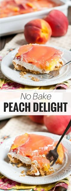 This No Bake Peach D