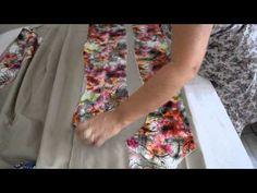 Cortando calça, vestido, regata e saia - Aula 12 - YouTube