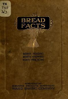 Bread Facts, 1920