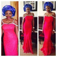 Delightful , Ravishing and Eye-Popping Aso-Ebi Styles - Wedding Digest NaijaWedding Digest Naija
