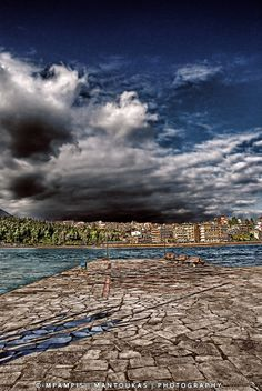 Halkis, Evia, Greece Places In Greece, Hdr, Athens, City Photo, My Photos, Landscapes, Greek, Island, Pretty