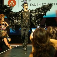 Looking back at the Trashion Show Runway from 2013 is excited for Aveda Institute, Main Library, Runway Hair, How To Make Rope, Cosmetology, How To Raise Money, Fashion Show, Hair Makeup, Photoshoot