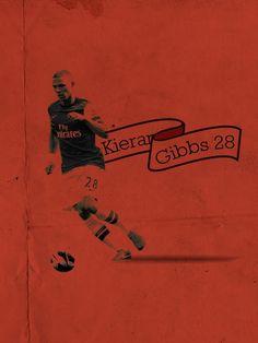 Kieran Gibbs, Big Shoulders, Arsenal Fc, Buy Prints, Squad, Football, Thierry Henry, Cartoon, Nike