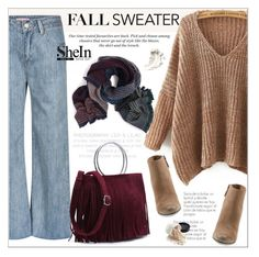 """Cozy Fall Sweater"" by aurora-australis ❤ liked on Polyvore featuring Dolce Vita, H&M, Sheinside and fallsweaters"