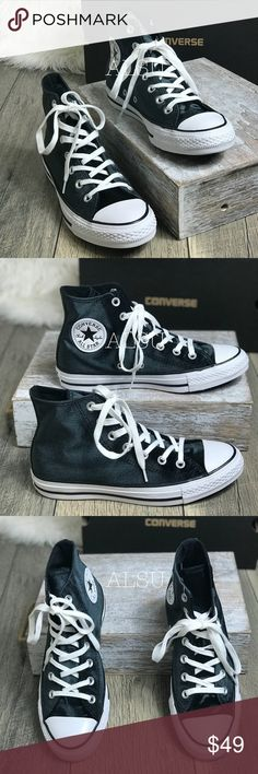 d67423c0e89420 Converse Ctas Hi Velvet Black White W AUTHENTIC Brand new with box. Price  is firm