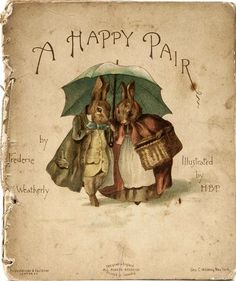 :: Sweet Illustrated Storytime :: A Happy Pair, 1890