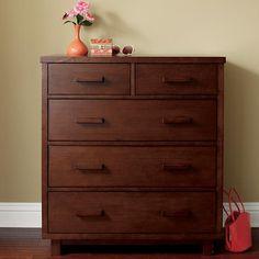 Oak Park Elementary 2-over-3 Dresser in Dressers | The Land of Nod
